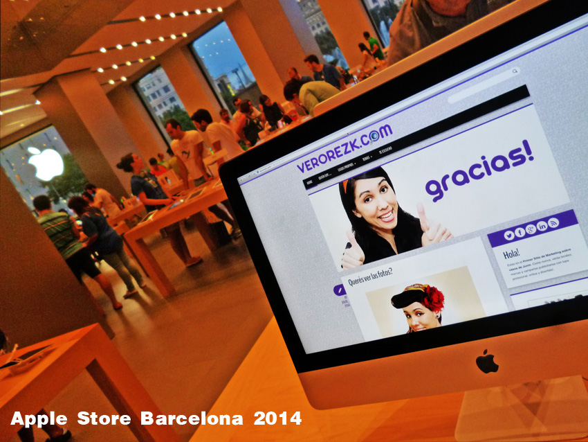 Vero-Rezk-Apple-Store-Barcelona
