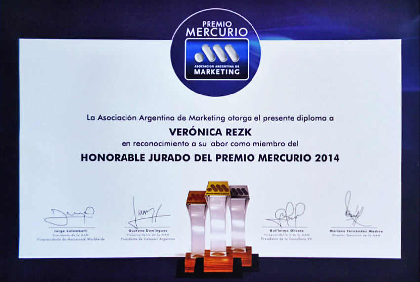 Vero-Rezk-Premios-Mercurio-diploma