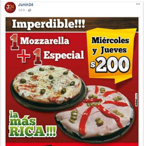 Junin 24 pizzeria